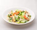 テイクアウト52.季節野菜の塩味炒め