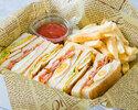 アメリカンクラブハウスサンドイッチ