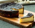 【ハーフ】バスク風チーズケーキ