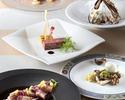 3・4月【食後のカフェフリー】前菜・メインが選べるプリフィクスランチ全4品