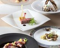 3・4月【フリードリンク付】 前菜2品含む全6品プリフィクスディナー!