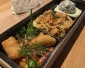 B-bento  1,500yen <スパゲティ桜鯛の真子とサンマルツァーノトマト、お肉>3/1~3/31まで