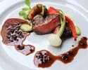 【4/1~】フルコースランチ 前菜+スープ+魚料理+肉料理+デザートプレート