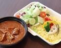 【テイクアウト】ホテル特製!牛タンカレー+惣菜4種