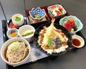 【ディナー限定】天丼と温そば膳