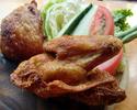 [外卖] Ayam Goreng Lala面包[炸鸡和生蔬菜]