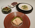 琥珀宮 あわび入り冷前菜セット(2名様分)