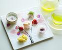 【3/1~5/31・春季限定】シェフパティシエ特製和風スイーツ ❝一期一会❞ と緑茶セット