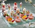 Sakura & Strawberry Afternoon Tea (Standard)  with Conrad Bear