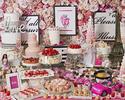 『3月ストロベリーホリック~Barbie in Paris~ 』いちご飴、桜ムース、桜タルトが新登場!(土日祝/大人)