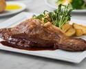 【4/1~】 国産牛サーロインステーキ200g ポテトと季節の温野菜添え ランチセット