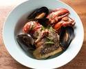 【Menu Breton】リゾット、選べるお肉料理、オマール海老など全7品