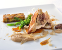 Seasonal chef recommended lunch course [Upgrade]