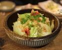 キャベツの温かいサラダ