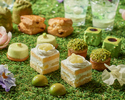 【Weekend:Semi Private Room A 】Spring Green Afternoon Tea
