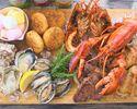 【オマール海老】&【あわび】  豪華海鮮BBQコース