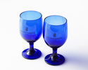[Option] Birthday Package C Cake + Flower (Desktop) + Ritz-Carlton Blue Goblet Pair Set + Welcome Drink + Commemorative Photo