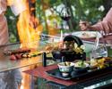 鉄板焼と和食のコラボレーション
