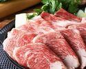 2時間飲み放題 特選黒毛和牛すき焼きコース 5000円(全8品)