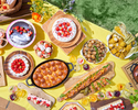 [Advance payment dessert buffet] Weekday children Girl's Sweets Camping