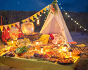 ディナービュッフェ Girl's Sweets Camping