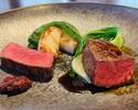 (ランチ)千葉県産かずさ和牛フィレ肉のロースト