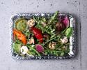 【テイクアウト】こだわり野菜の薪火グリルサラダ バルサミコソース