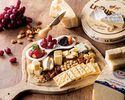 4/1~事前予約限定(1ドリンク付き)ワインと楽しむ「チーズボード」 シェフおすすめのチーズと季節のフルーツ
