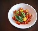 【TakeOut】Macaroni, Fesh Colorurful Tomato Sauce, Genovese