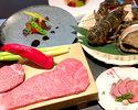 【ペアコース】選べる1ドリンク付・活けオマール海老&極上モーリヤ厳選牛食べ比べ