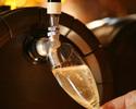【乾杯グラススパークリング付き3300円(税抜き)】料理のみプラン メインはA4牛赤身、チキングリル盛り合わせ4種付き8品