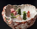【Lunch/Weekday only Maximum 4 perople】FUJI -Kaiseki 7 courses-+Window-side table