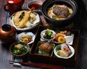 期間限定【季節の松花堂 3990→3200円税抜】食事のみ、土鍋飯にグレードアップ♪
