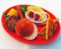 Gawin nating burger! [Itinakda ang mga Kids BBQ] ¥ 850 (hindi kasama ang bayad sa pagpasok)