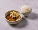 【TO GO】Longrainベジタブルイエローカレー Vegetable yellow curry