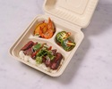 【TO GO】デリ3種+牛ハラミのローストビーフ丼