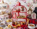 """【Weekdays】 """"Alice's bread Eat me"""" Afternoon tea with strawberry sweets, authentic scones, and bread"""
