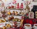 """【4/1~Weekdays / Counter seats】 """"Alice's bread Eat me"""" Afternoon tea with strawberry sweets, authentic scones, and bread"""