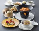 【ふかひれ御膳】ふかひれの熱々スープ・海老チリのチーズフォンデュなど全7品(平日限定)
