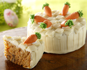 【イースターフェア】キャロットケーキ(直径12㎝)