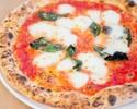 【平日限定★パスタもピザもついてくる欲張りセット!】人気のシフォンケーキに食前食後にドリンク2杯付いたプチごほうびランチ