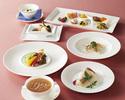 【ふかひれスープコース】北京ダック、季節の食材を使用した全8品(窓側確約・土日祝ディナー限定)