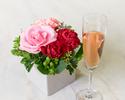 ◆大人/土日祝【5月末まで★母の日×お花のプレゼント】乾杯酒&感謝を伝えるメッセージ付きディナーブッフェ