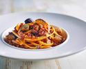 【懐かしの洋食シリーズ】粗挽き肉と茄子のボロネーゼパスタ