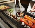 【炭火焼 霞炭】旬の魚介類やシャトーブリアンなど全9品 正規料金