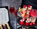 【Strawberryアフタヌーンティー】〜あまおうのブリュレフレンチトースト〜スイーツ等12種!紅茶6種おかわり自由