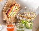 [Take out] Quattro Formage mixed sandwich (with salad)