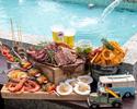 【BBQプラン】贅沢♪5種のお肉とシーフードも楽しめるプレミアムBBQプラン (飲み放題付き)¥5,500