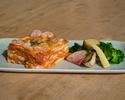 【テイクアウト】えびとチーズの特製ラザーニャ 温野菜弁当