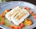 【平日限定★ランチコース「KA I」ドリンクバー付き】前菜・パスタ・魚料理と肉料理から選べるメイン・デザートなどフルコース全5皿